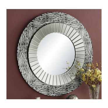 Cameron Accent Modern Wall Mirror