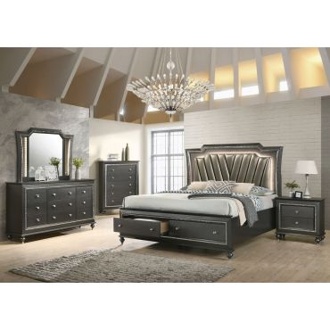 Caprice Storage Bed With LED Lights