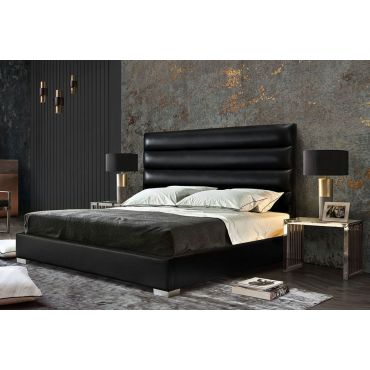 Carla Leather Bed Frame