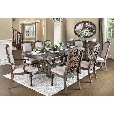 Carlton Rustic Finish Dining Room Furniture
