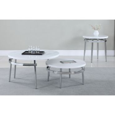 Carmen Coffee Table With Nesting Table