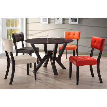 Castana Round Top Dining Table Set