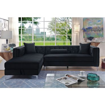 Caswell Sectional With Storage Chaise