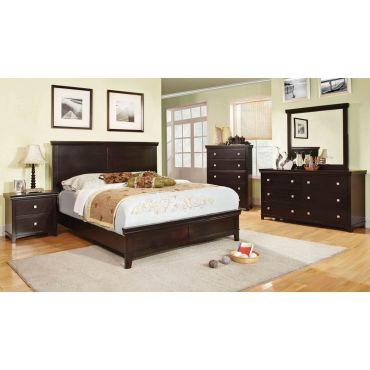 Charleston Espresso Finish Bedroom Furniture