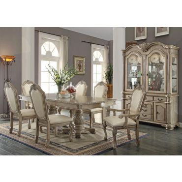 Chateau Antique White Dining Room Furniture