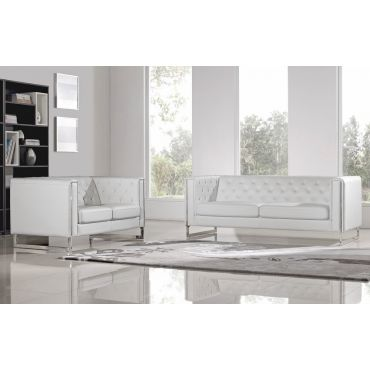 Chelsea White Sofa With Metal Leg,Chelsea White Leather Sofa,Chelsea White Leather Chair,Chelsea White Leather Love Seat