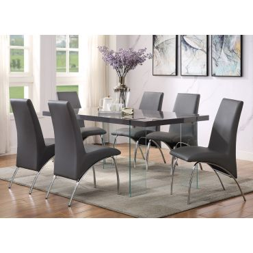 Clarice Modern Lacquer Dining Table