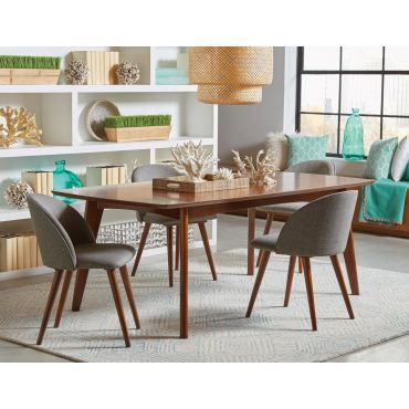 Clarkson Mid-Century Modern Dining Table Set