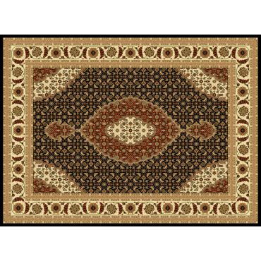 Mona Lisa Area Rug Collection T02 Black