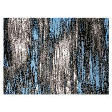 Clay Blue Modern Rug