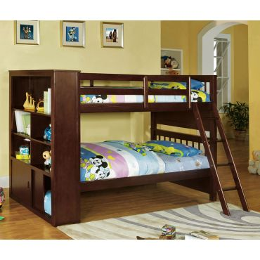 Dakota Ridge Bunk Bed With Bookcase