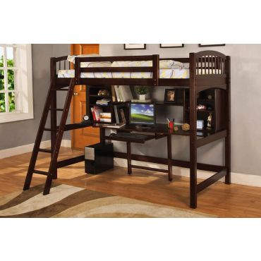 Hayden Loft Bed With Workstation