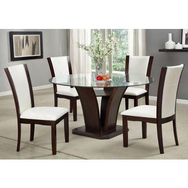 Manhattan Round Dining Table Set