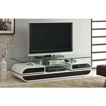 Evos Two Tone Lacquer Finish TV Stand