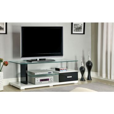 Egal Modern TV Stand With Drawer