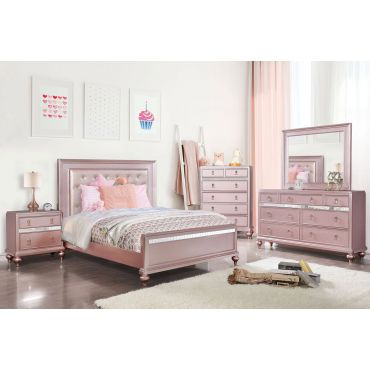 Roselie Silver Youth Bedroom Furniture