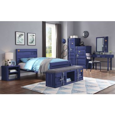 Container Blue Youth Bedroom Furniture