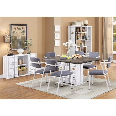 Container Industrial Style Dining Table Set