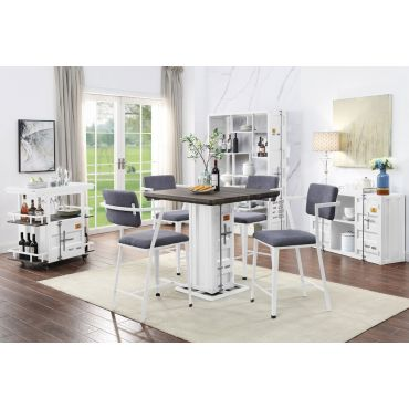 Container Industrial Style Pub Table Set