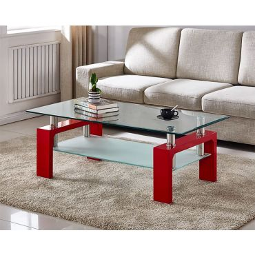 Camila Red Coffee Table