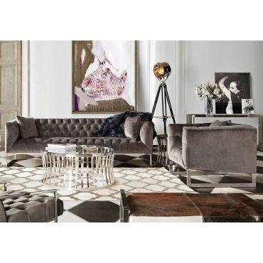 Crawford Modern Chesterfield Sofa