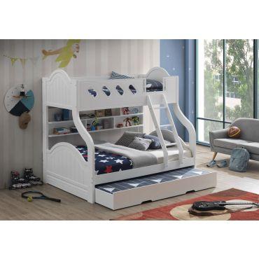 Crayen Twin Over Full Bunk Bed