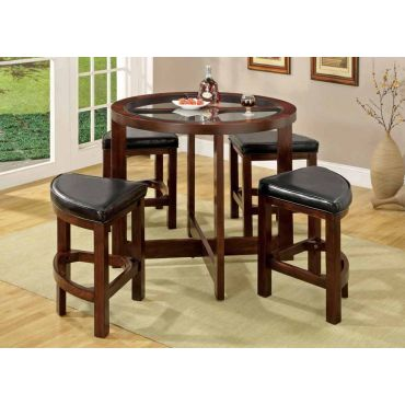 Crystal Cove Round Couter Height Table