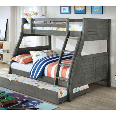 Dakota Ridge Bunk Bed With Bookcase
