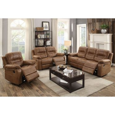 Dale Brown Recliner Sofa