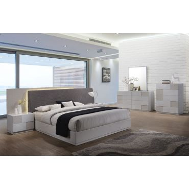 Dana Modern Bed With Lights