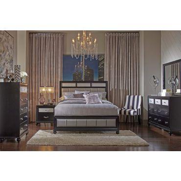 Danielle Black Finish Bedroom Furniture