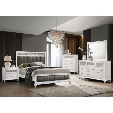 Danielle White Finish Bedroom Collection