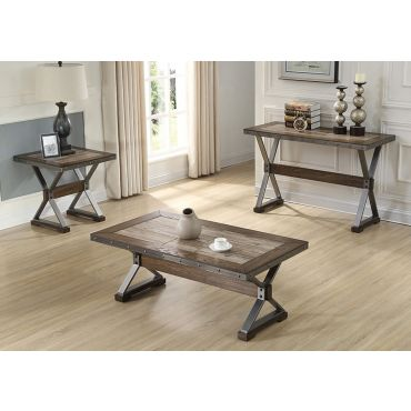 Doran Industrial Style Coffee Table