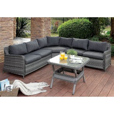 Sedona Outdoor Sectional With Table
