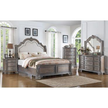 Davina Traditional Sleigh Bed Collection