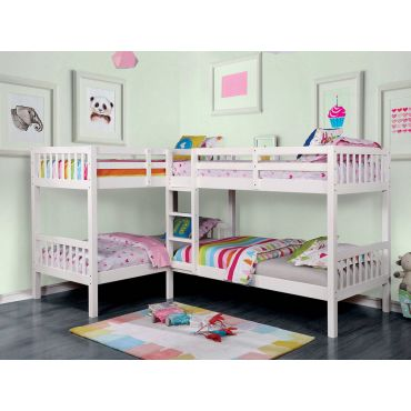 Debny Twin Over Twin Bunk Bed
