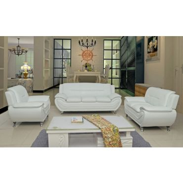 Deliah Modern Leather Living Room Collection