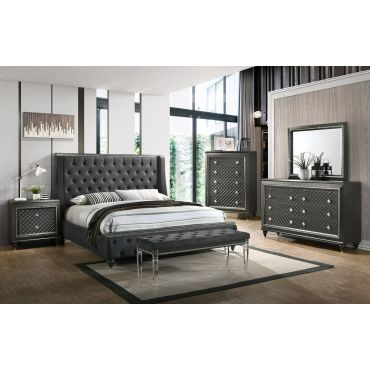 Demi Upholstered Bed