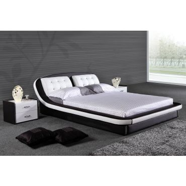 Derio Modern Low Profile Bed