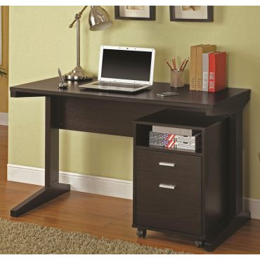 Bracie Computer Desk With File Cabinet