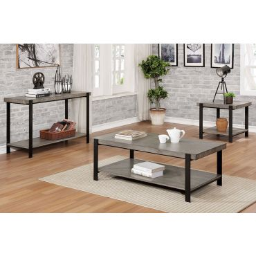 Dina Industrial Style Coffee Table