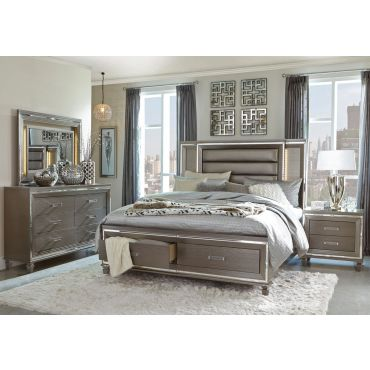 Dover Bed With Drawers