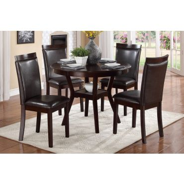 Downtown Round Table With Chairs