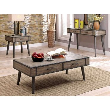 Edge Rustic Grey Coffee Table