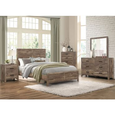 Edmonstone Rustic Finish Bedroom