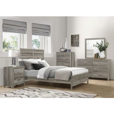 Edmonstone Bedroom Furniture Rustic Grey