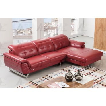 EK-L085 Italian Leather Modern Sectional