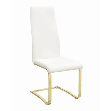 Elmore Gold Dining Chairs