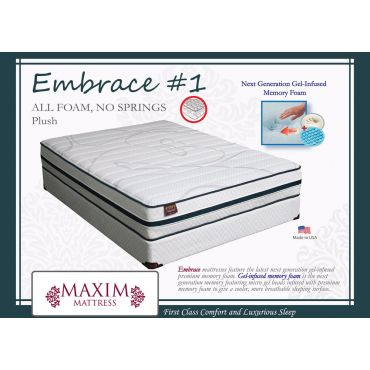 Embrace Gel Memory Foam Mattress