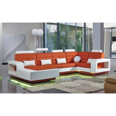 Emmett Sectional With LED Lights